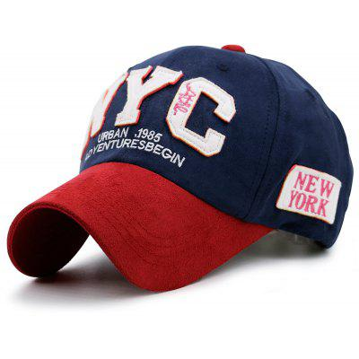 NYC Baseball Hat with Color Block