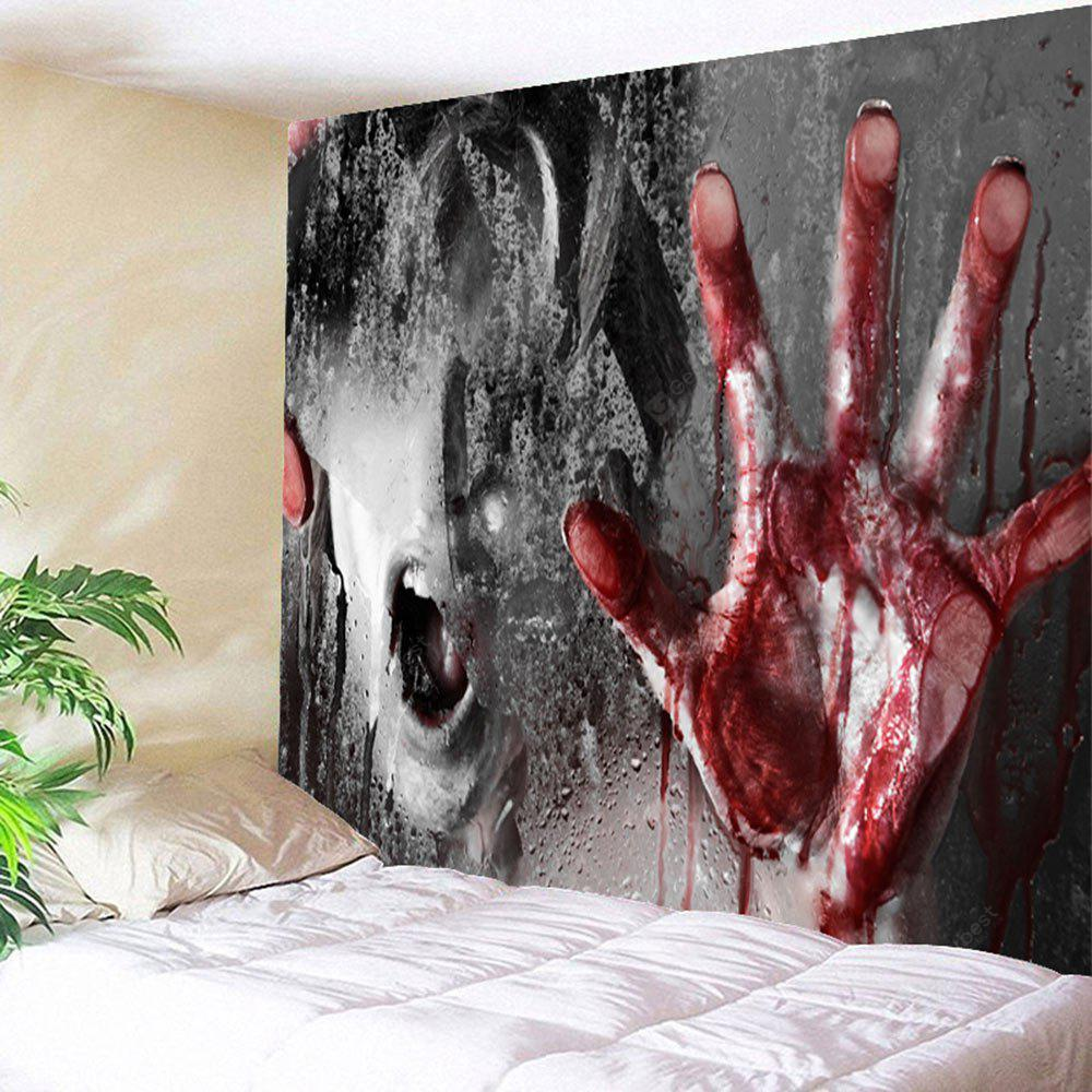COLORMIX Terrible Murder Scene Halloween Wall Hanging Tapestry