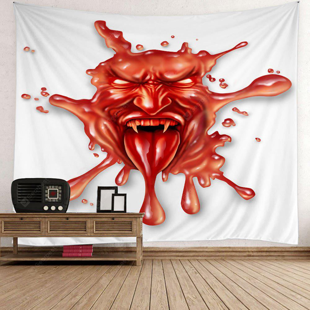 3D Demon Print Halloween Wall Hanging Tapestry