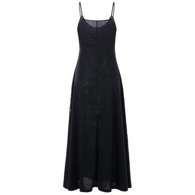 Monochrome Maxi Cami DressMaxi Dresses<br>Monochrome Maxi Cami Dress<br><br>Dresses Length: Ankle-Length<br>Material: Rayon, Spandex<br>Neckline: Spaghetti Strap<br>Package Contents: 1 x Dress<br>Pattern Type: Others<br>Season: Summer<br>Silhouette: A-Line<br>Sleeve Length: Sleeveless<br>Style: Casual<br>Weight: 0.4000kg<br>With Belt: No