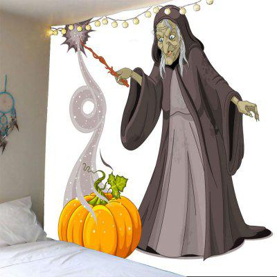 Buy COLORFUL Halloween Pumpkin Man Waterproof Tapestry for $12.27 in GearBest store