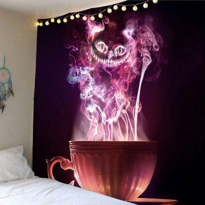 Halloween Cup Goblins Waterproof Wall Tapestry