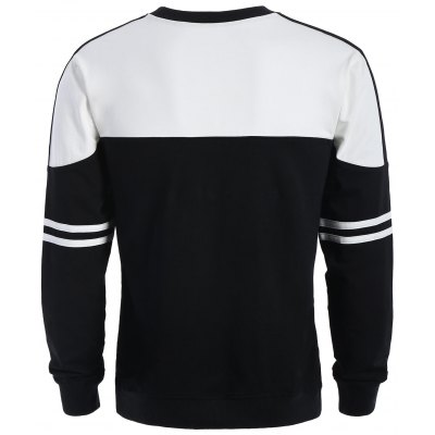 Crew Neck Two Tone Mens SweatshirtMens Hoodies &amp; Sweatshirts<br>Crew Neck Two Tone Mens Sweatshirt<br><br>Material: Polyester<br>Package Contents: 1 x Sweatshirt<br>Pattern Type: Patchwork<br>Shirt Length: Regular<br>Sleeve Length: Full<br>Style: Casual<br>Weight: 0.5100kg