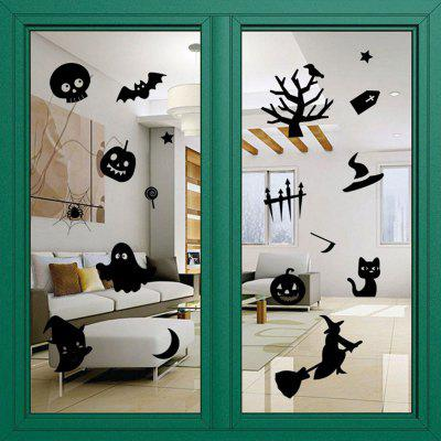 Halloween Decoration DIY Wall StickersWall Stickers<br>Halloween Decoration DIY Wall Stickers<br><br>Feature: Removable<br>Functions: Decorative Wall Stickers<br>Material: PVC<br>Package Contents: 1 x Wall Stickers (Set)<br>Theme: Halloween<br>Wall Sticker Type: Plane Wall Stickers<br>Weight: 0.3300kg