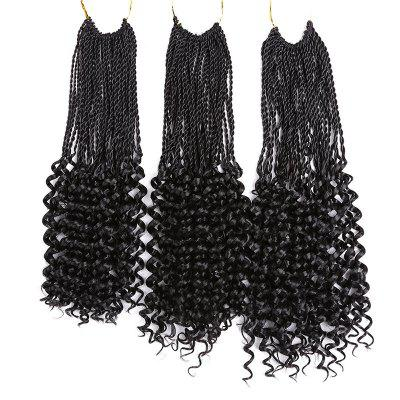 Long Pre Twisted Flashy Curl Crochet Braids Hair ExtensionsHair Extensions<br>Long Pre Twisted Flashy Curl Crochet Braids Hair Extensions<br><br>Fabric: Synthetic Hair<br>Hair Extension Type: Clip-In/On<br>Length: Long<br>Package Contents: 1 x Hair Extensions<br>Style: Braid Hair<br>Weight: 0.1100kg