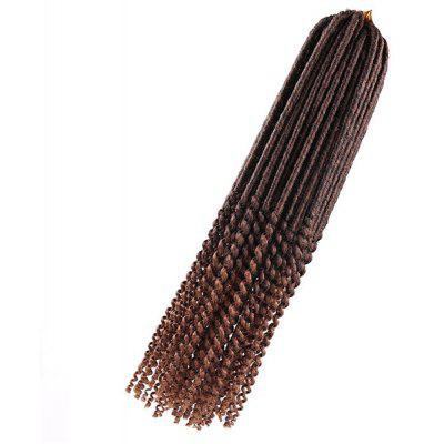 Long Faux Dread Locs Crochet Hair Braids Extensions