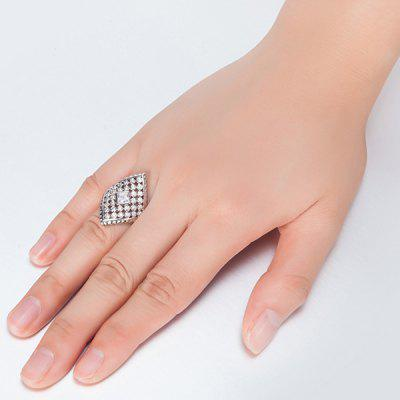 Rhombic Faux Diamond Inlay Ring