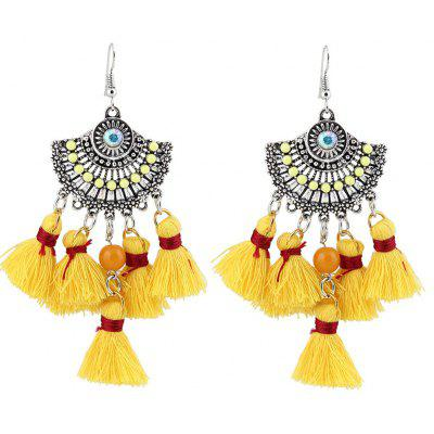 Vintage Tassel Chandelier Hook Earrings