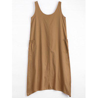 Sleeveless U Neck Asymmetric DressWomens Dresses<br>Sleeveless U Neck Asymmetric Dress<br><br>Dresses Length: Knee-Length<br>Material: Polyester<br>Neckline: U Neck<br>Occasion: Causal, Going Out<br>Package Contents: 1 x Dress<br>Pattern Type: Solid Color<br>Season: Summer<br>Silhouette: Asymmetrical<br>Sleeve Length: Sleeveless<br>Style: Casual<br>Weight: 0.2850kg<br>With Belt: No