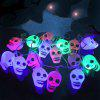 Skull Shape Halloween Party LED String Lights - COLORFUL