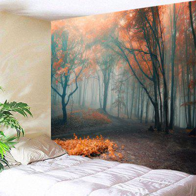 Misty Forest Wall Art Hanging Bedroom Tapestry