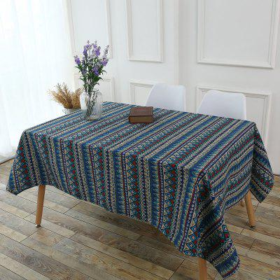 Bohemia Zigzag Printed Table Cloth