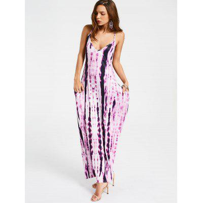 Tie Dyed Straight Casual Maxi DressMaxi Dresses<br>Tie Dyed Straight Casual Maxi Dress<br><br>Dresses Length: Ankle-Length<br>Material: Cotton, Polyester<br>Neckline: Spaghetti Strap<br>Occasion: Casual , Going Out<br>Package Contents: 1 x Dress<br>Pattern Type: Print<br>Season: Summer<br>Sleeve Length: Sleeveless<br>Weight: 0.2800kg<br>With Belt: No