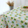 Trees Pattern Kitchen Tools Table Cloth - GREEN