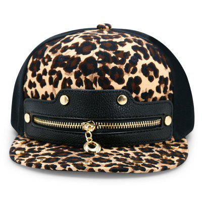 Leopard Zipper Faux Leather Spliced Baseball HatMens Hats<br>Leopard Zipper Faux Leather Spliced Baseball Hat<br><br>Gender: Unisex<br>Group: Adult<br>Hat Type: Baseball Caps<br>Material: Polyester<br>Package Contents: 1 x Hat<br>Pattern Type: Leopard<br>Style: Fashion<br>Weight: 0.1000kg