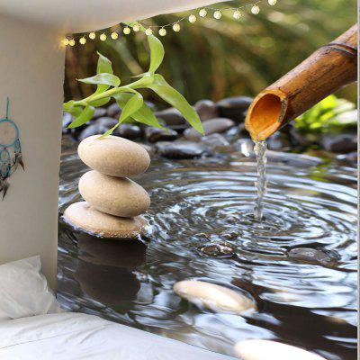Buy COLORMIX Water Drop Pool Printed Wall Hanging Tapestry for $16.59 in GearBest store