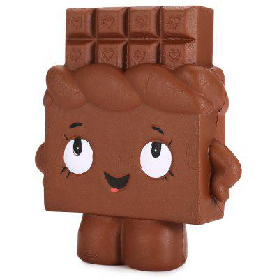 Slow Rising Squishy Chocolate Person Simulation Toy - $5.29 Free ...