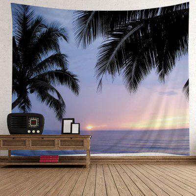 Wall Hanging Art Decor Sunset Ocean Trees Print TapestryTapestries<br>Wall Hanging Art Decor Sunset Ocean Trees Print Tapestry<br><br>Feature: Washable<br>Material: Polyester<br>Package Contents: 1 x Tapestry<br>Shape/Pattern: Print<br>Style: Natural<br>Theme: Landscape<br>Weight: 0.4000kg