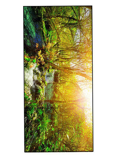 Forest Stream Print Soft Practical Bath Towel