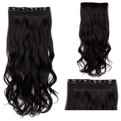 Long Clip In Wavy Synthetic Hair Extension