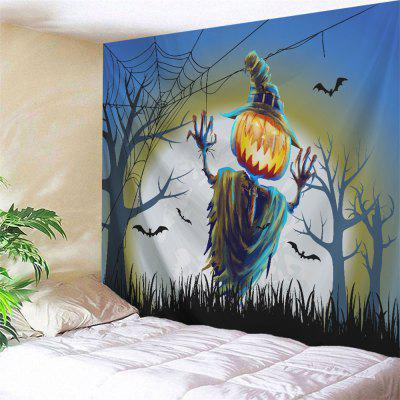 Buy COLORMIX Funny Halloween Theme Wall Hanging Tapestry for $16.06 in GearBest store