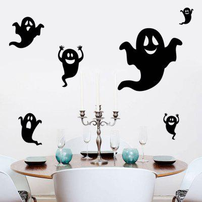 DIY Halloween Ghost Shape Wall StickersWall Stickers<br>DIY Halloween Ghost Shape Wall Stickers<br><br>Feature: Removable<br>Functions: Decorative Wall Stickers<br>Material: PVC<br>Package Contents: 1 x Wall Stickers (Set)<br>Theme: Halloween<br>Wall Sticker Type: Plane Wall Stickers<br>Weight: 0.1850kg