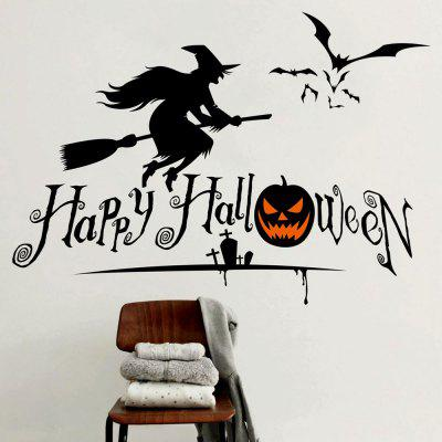 Halloween Witch Shape DIY Wall StickersWall Stickers<br>Halloween Witch Shape DIY Wall Stickers<br><br>Feature: Removable<br>Functions: Decorative Wall Stickers<br>Material: PVC<br>Package Contents: 1 x Wall Stickers (Set)<br>Theme: Halloween<br>Wall Sticker Type: Plane Wall Stickers<br>Weight: 0.2100kg