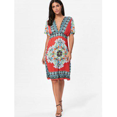 Aztec Print Plunge Backless Shift DressWomens Dresses<br>Aztec Print Plunge Backless Shift Dress<br><br>Dresses Length: Knee-Length<br>Embellishment: Backless<br>Material: Polyester<br>Neckline: Plunging Neck<br>Package Contents: 1 x Dress<br>Pattern Type: Print<br>Season: Summer<br>Silhouette: Shift<br>Sleeve Length: Short Sleeves<br>Style: Bohemian<br>Waist: Empire<br>Weight: 0.3000kg<br>With Belt: No