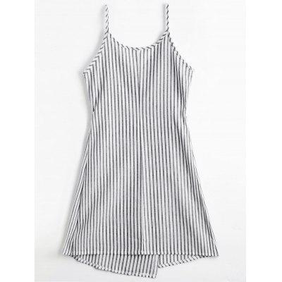 Striped Cami Wrap DressWomens Dresses<br>Striped Cami Wrap Dress<br><br>Dresses Length: Mini<br>Material: Cotton Blend<br>Neckline: Spaghetti Strap<br>Occasion: Causal<br>Package Contents: 1 x Dress<br>Pattern Type: Striped<br>Season: Fall, Spring, Summer<br>Silhouette: A-Line<br>Sleeve Length: Sleeveless<br>Style: Brief<br>Weight: 0.2200kg<br>With Belt: No