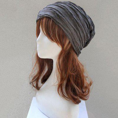 Folding Layered Knitted Warm Beanie