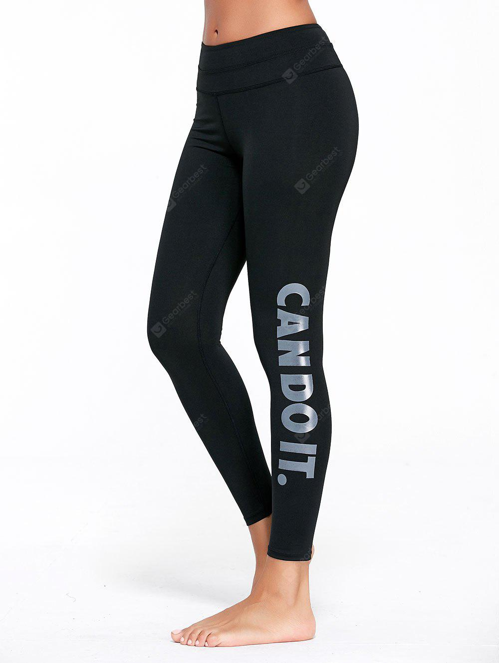 Can Do It Graphic Sports Tights