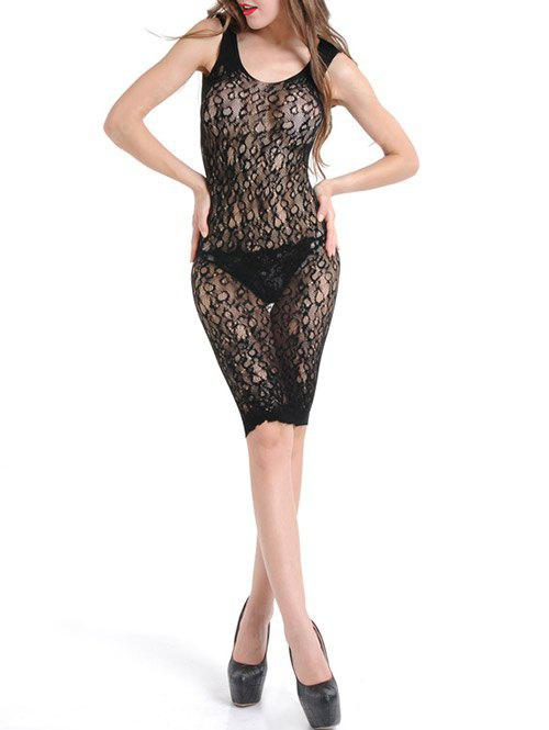 See Through Bodycon Lace Dress