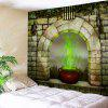 Window Censer Halloween Wall Tapestry - COLORMIX