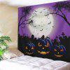 Grimace Pumpkin Halloween Wall Art Tapestry - COLORMIX