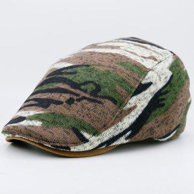 Camouflage Pattern Versatile Flat HatMens Hats<br>Camouflage Pattern Versatile Flat Hat<br><br>Gender: Unisex<br>Group: Adult<br>Hat Type: Newsboy Caps<br>Material: Polyester<br>Package Contents: 1 x Hat<br>Pattern Type: Camouflage<br>Style: Fashion<br>Weight: 0.1000kg