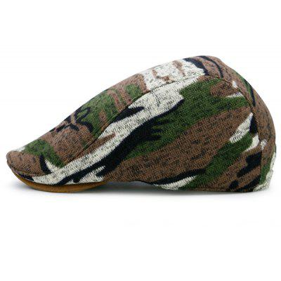 Buy BROWN Camouflage Pattern Versatile Flat Hat for $12.04 in GearBest store