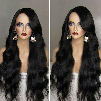 Long Side Part Wavy Synthetic Wig