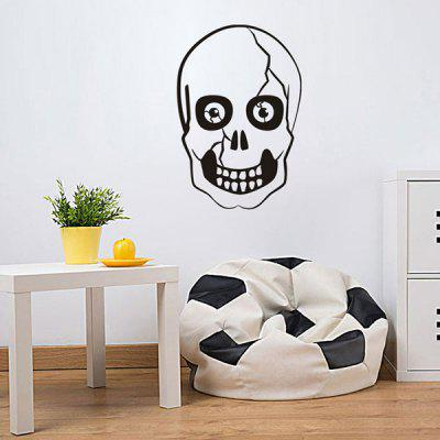 Halloween Skull Shape Wall StickerWall Stickers<br>Halloween Skull Shape Wall Sticker<br><br>Feature: Removable<br>Functions: Decorative Wall Stickers<br>Material: PVC<br>Package Contents: 1 x Wall Sticker<br>Theme: Halloween<br>Wall Sticker Type: Plane Wall Stickers<br>Weight: 0.1650kg