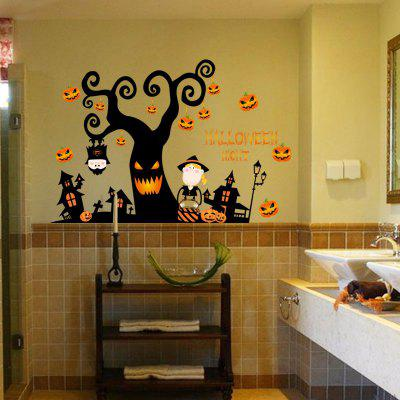 DIY Cartoon Halloween Tree Shape Wall StickersWall Stickers<br>DIY Cartoon Halloween Tree Shape Wall Stickers<br><br>Feature: Removable<br>Functions: Decorative Wall Stickers<br>Material: PVC<br>Package Contents: 1 x Wall Stickers (Set)<br>Theme: Halloween<br>Wall Sticker Type: Plane Wall Stickers<br>Weight: 0.3000kg