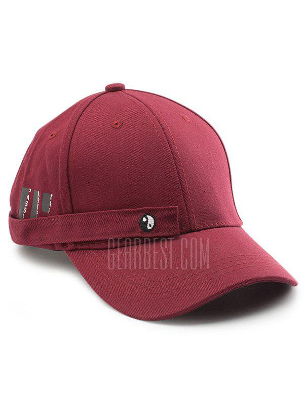 Tiny Rectangle Eight Diagrams Embellished Baseball Dad's Hat