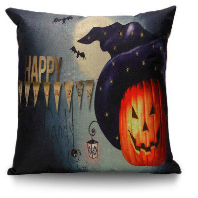 Buy COLORMIX Happy Halloween Sofa Decorative Pillow Case for $5.81 in GearBest store