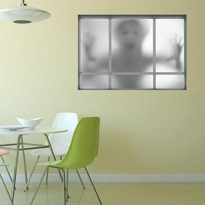 3D Window Ghost Removable Wall Sticker
