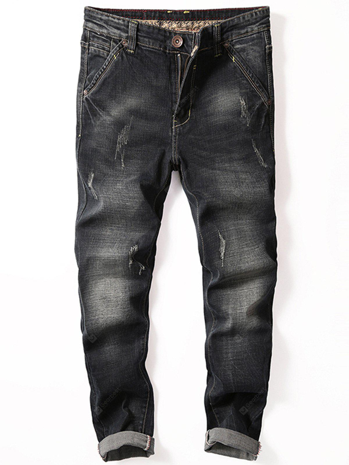 Jeans graffiati Slim Fit