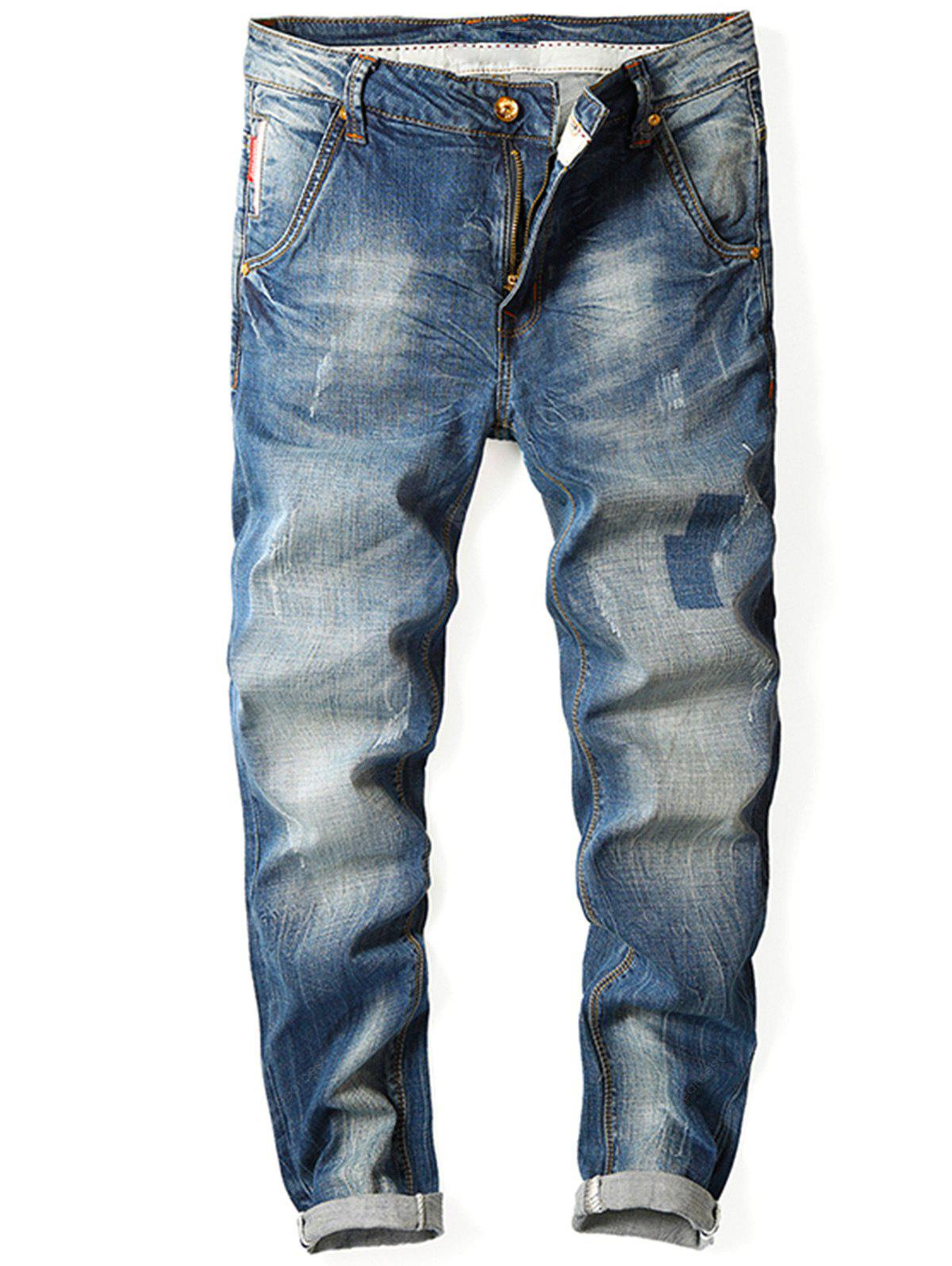 Slim Fit Jeans Straight Jeans