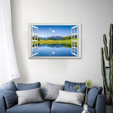Home Decoration Nature Scenery 3D Wall Sticker