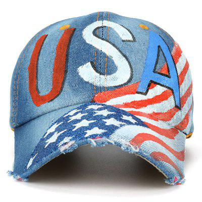 USA Flag Element Broken Hole Baseball HatMens Hats<br>USA Flag Element Broken Hole Baseball Hat<br><br>Gender: Unisex<br>Group: Adult<br>Hat Type: Baseball Caps<br>Material: Polyester<br>Package Contents: 1 x Hat<br>Pattern Type: Others<br>Style: Fashion<br>Weight: 0.1000kg