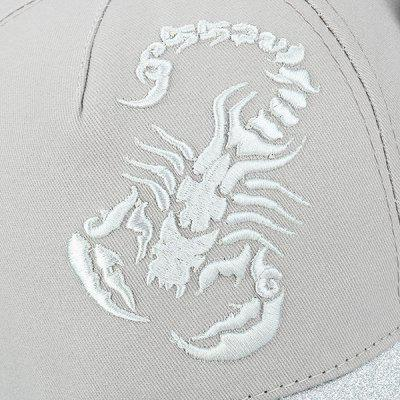 Scorpion Letters Embroidery Baseball HatMens Hats<br>Scorpion Letters Embroidery Baseball Hat<br><br>Gender: Unisex<br>Group: Adult<br>Hat Type: Baseball Caps<br>Material: Polyester<br>Package Contents: 1 x Hat<br>Pattern Type: Animal<br>Style: Fashion<br>Weight: 0.1100kg