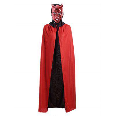 Halloween Cosplay Ghost Hooded Long CloakHalloween Supplies<br>Halloween Cosplay Ghost Hooded Long Cloak<br><br>Event &amp; Party Item Type: Party Decoration<br>Material: Polyester<br>Occasion: Halloween<br>Package Contents: 1 x Cloak<br>Shape/Pattern: Solid Color