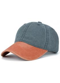 Nostalgic Color Blocking Baseball Hat