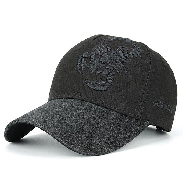 Scorpion Letters Embroidery Baseball Hat